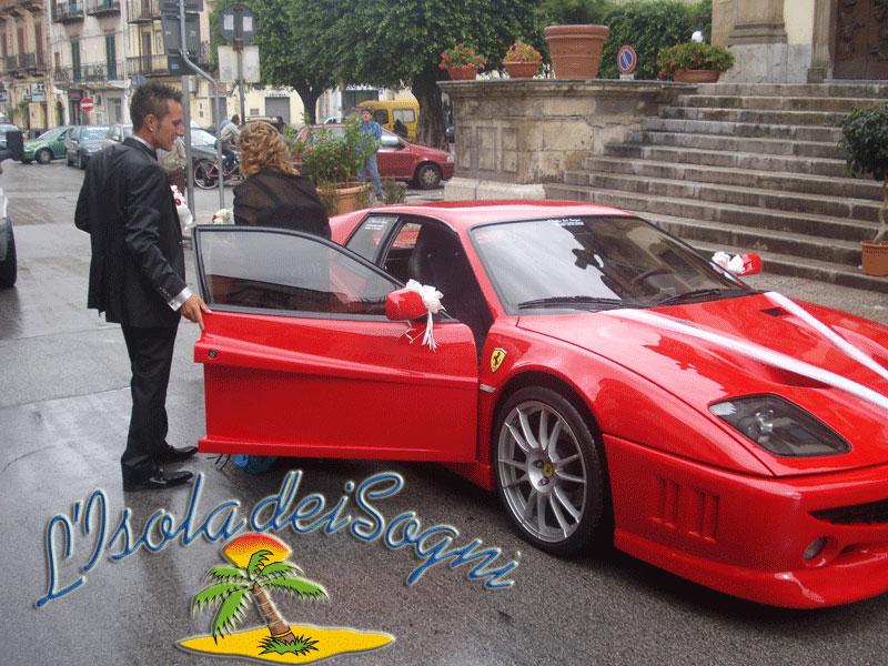 Matrimonio In Ferrari : L isola dei sogni partinico matrimoni ferrari