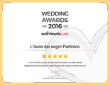 L'Isola dei sogni Partinico, vincitore Wedding Awards 2016 matrimonio.com